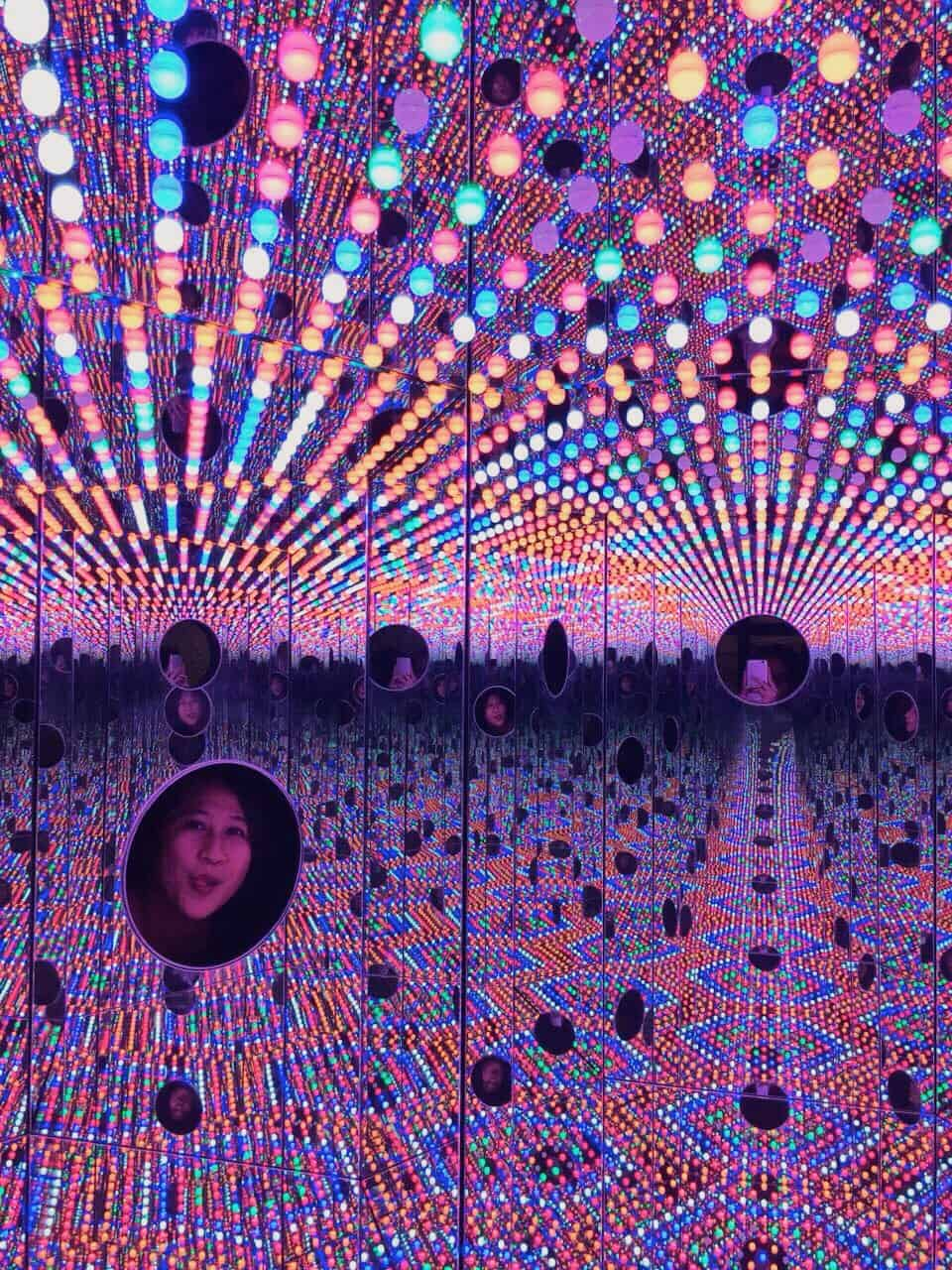 yayoi kusama i want to love on the festival night travelbeib