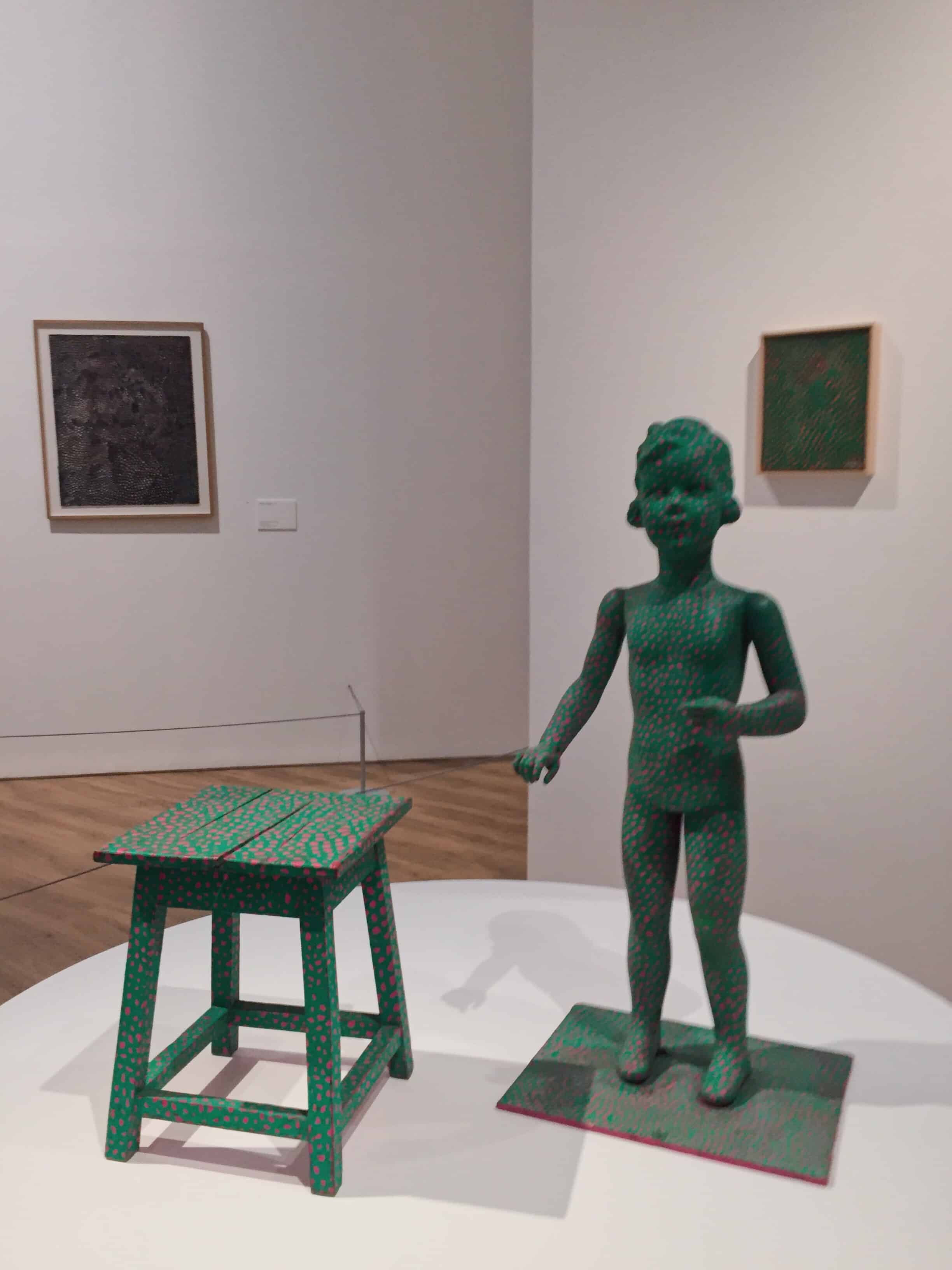 yayoi kusama untitled child mannequin travelbeib