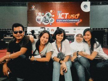 working experience as event organizer
